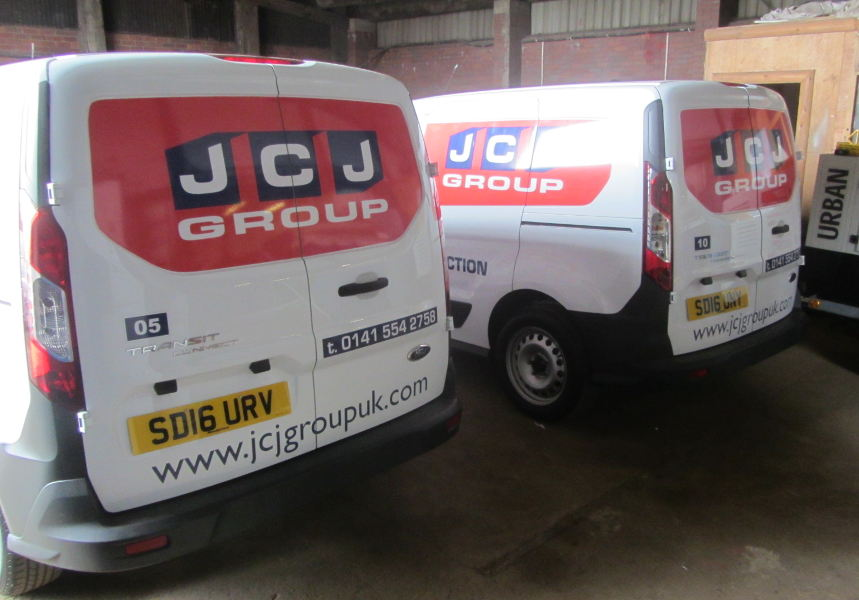 JCJ Group van livery